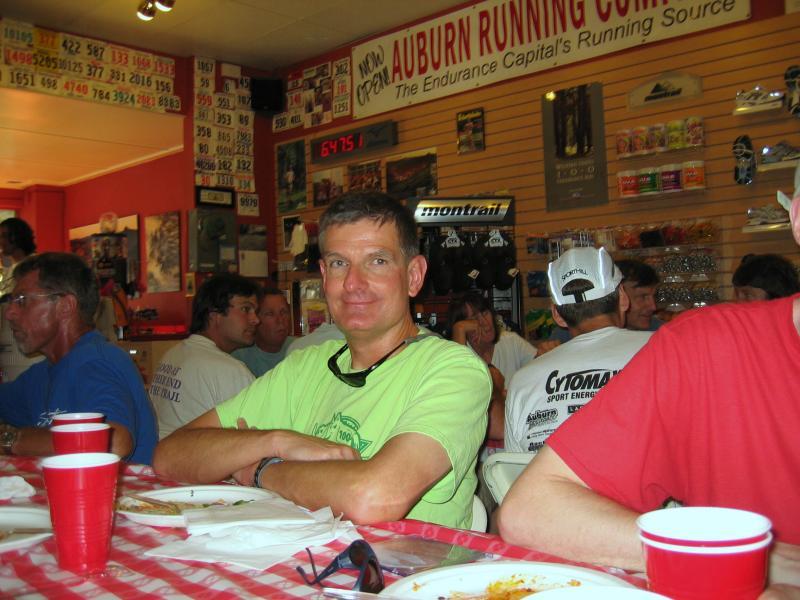 Steve Reagan - 2005 WS training runs