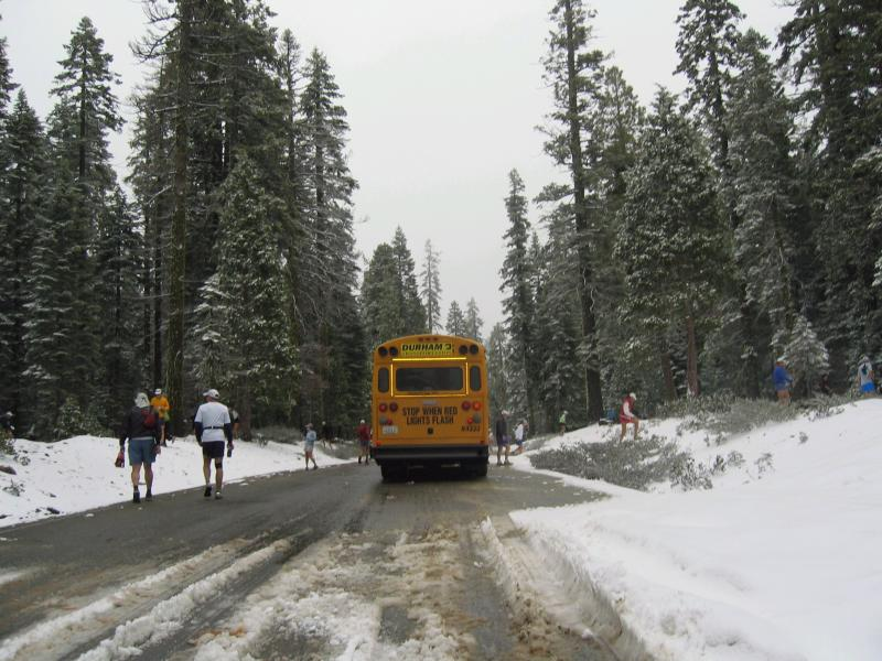the bus ride took 2 hours due to trouble getting in to the trail