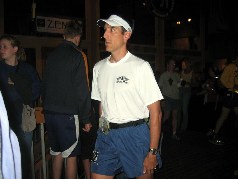 Dan Moores, owner of the Auburn Running Store, will finish his first 100-miler in 25:30