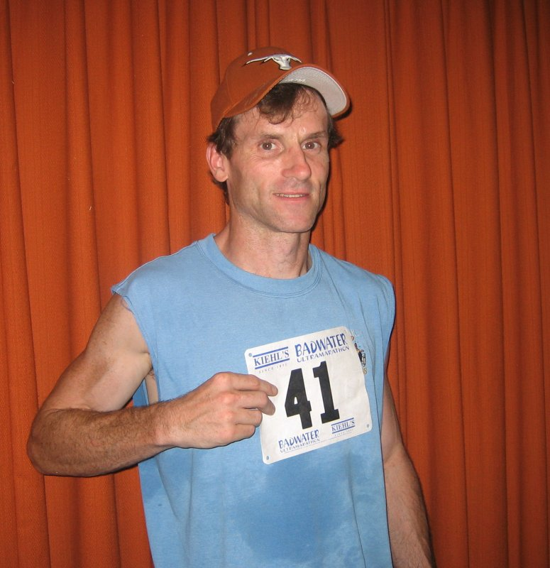 Daves pre-race mug shot