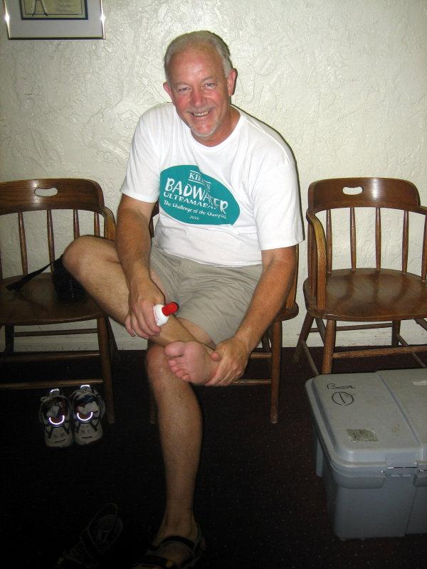 John Vonhof, author of Fixing Your Feet shows us his own