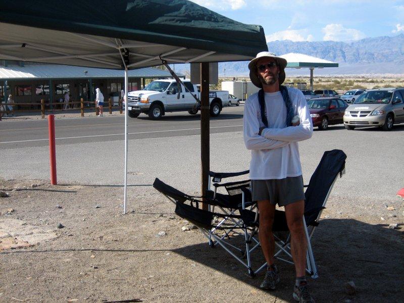Scott Jacaway, crew & pacer for Robert Andrulis