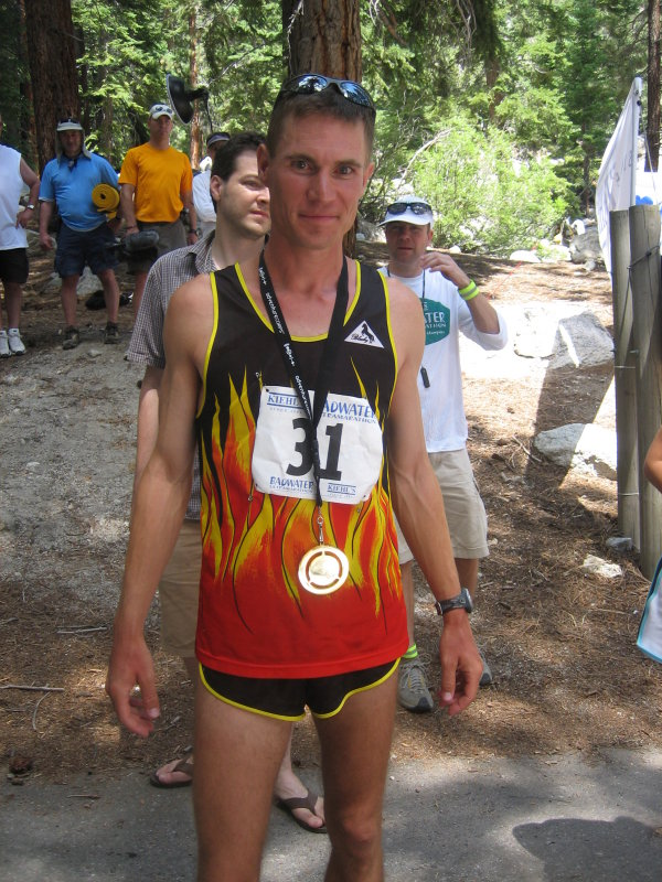 Akos Konya takes 2nd place in 25:58 - not bad for a rookie!  I bet hell be back next year.