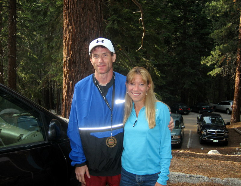 After struggling to Lone Pine, Dave Bursler scurries up the mountain in under 4 hours for a 44:55 finish