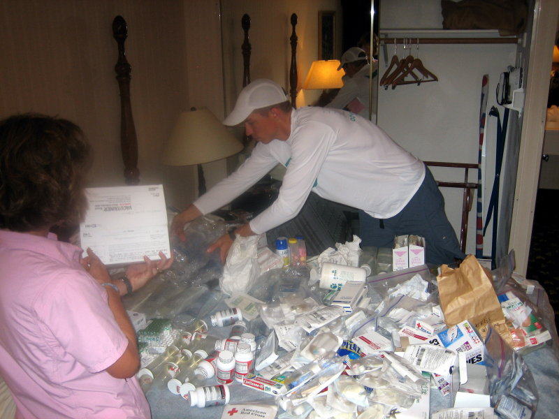 Taking medical supply inventory for next year