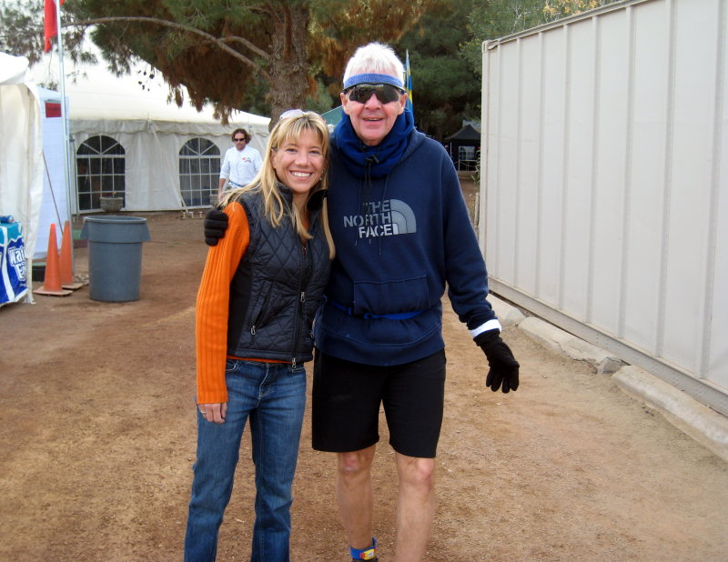 me and Lynn Newton