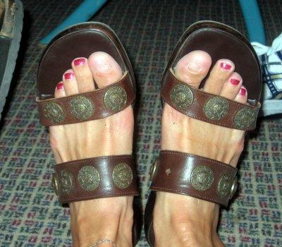 Lisas feet
