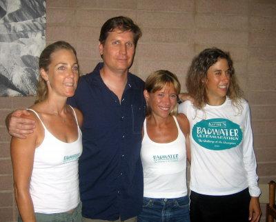 Laurie, Chris, me, Anna