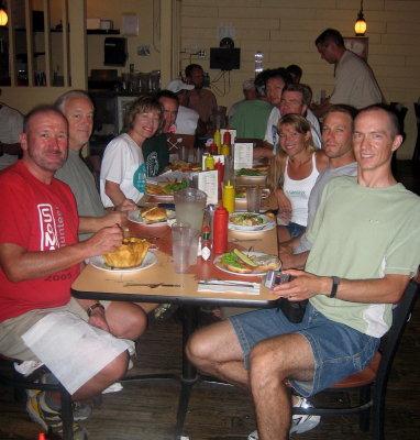 Dinner in Furnace Creek
