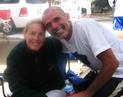 Lisa will rest for a few hours, then summit Mt. Whitney & then follow her steps back through Death Valley to Badwater