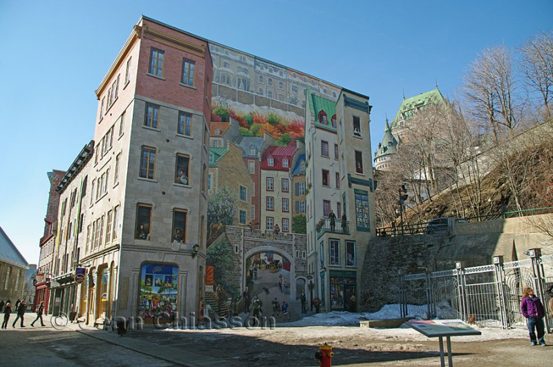 Murale Place Royale