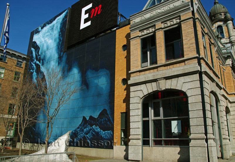 Murale boulevard Champlain