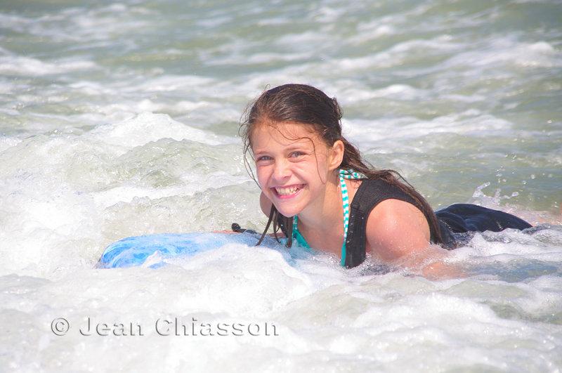 Gabrielle a la mer
