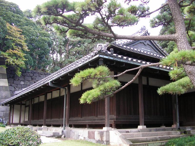 Samurai guard house