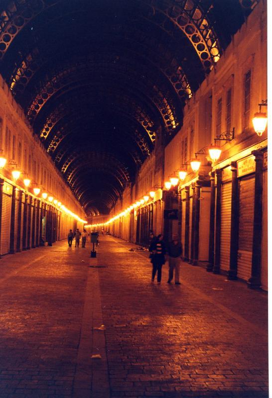 Elhamideyah Market by night