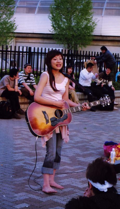 Street music in Harajuku