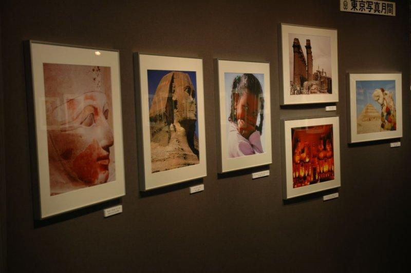 My exhibited photos on display