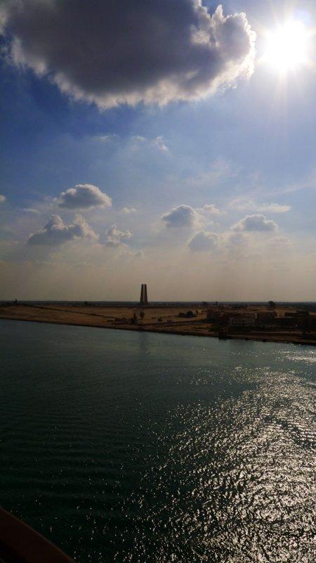 World War One Memorial, Suez Canal, Ismailia, Egypt, 2011