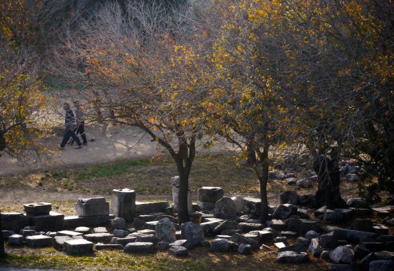 Walking through history, Rhodes, Greece, 2011