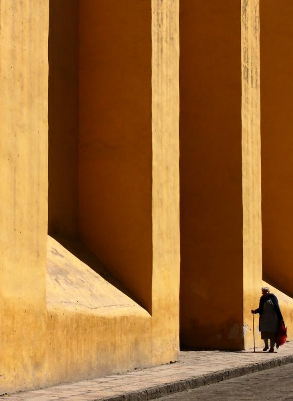 Under the Walls of Santa Ana, San Miguel de Allende, Mexico, 2005