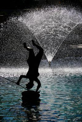 """Woman and Fish,"" Scottsdale Civic Center, Scottsdale, Arizona, 2011"