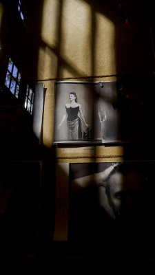 Photo exhibit, Jacob's Pillow Dance Festival, Becket, Massachusetts, 2011