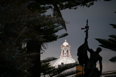 Central Square, Cuenca, Ecuador, 2001