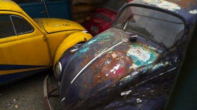Where old VW's go to die, Cuenca, Ecuador, 2011