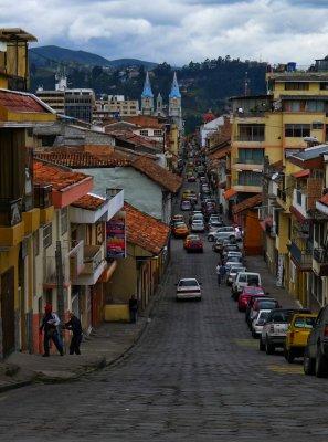 Looking towards downtown, Cuenca, Ecuador, 2001