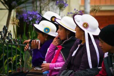 Family outing, Biblian, Ecuador, 2011