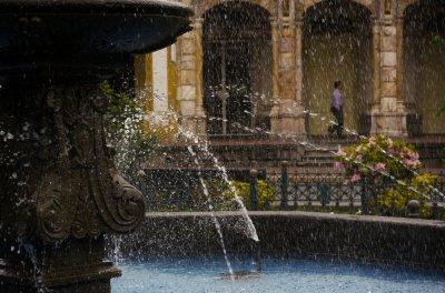 Fountain, Cuenca, Ecuador, 2011