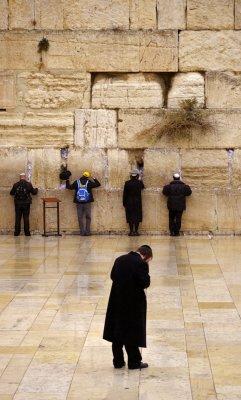The Wailing Wall, Jerusalem, Israel, 2011