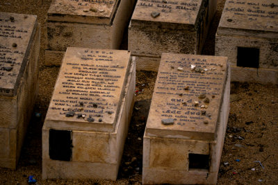 Jewish cemetery, Mount of Olives, Jerusalem, Israel, 2011