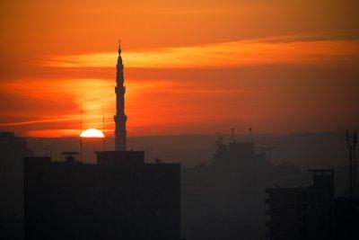 Sunrise, Cairo, Egypt, 2011