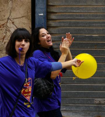 Student celebration, Valletta, Malta, 2011