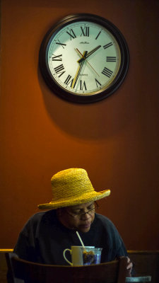 Passing time, Santa Cruz, California, 2012