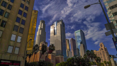 Cityscape, Downtown Los Angeles, California, 2012