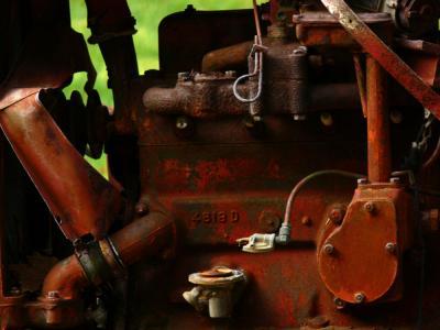 Heart of the machine, Oak Creek Canyon, Sedona, Arizona, 2006