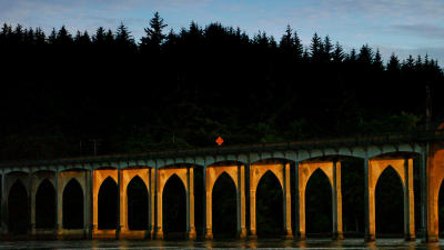 Gothic arches, Florence, Oregon, 2006