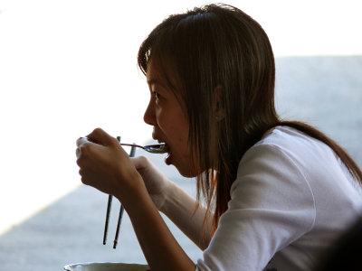 Soup break, Danang, Vietnam, 2007