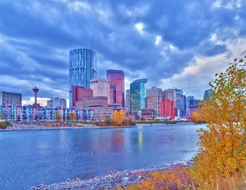October Cityscape Color 4