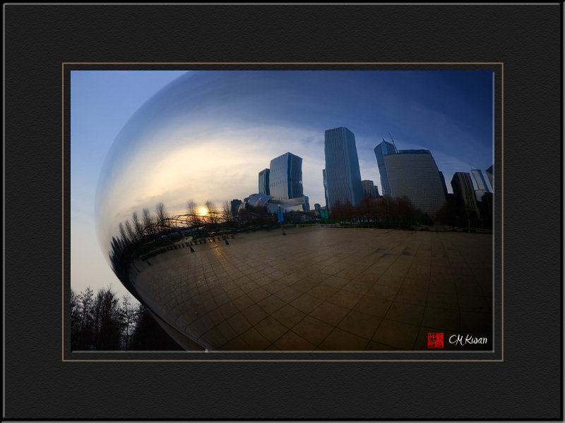 City View on Cloud Gate