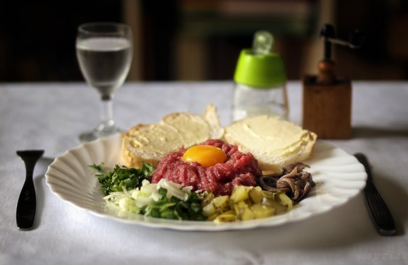 Nature morte - Steak tartare (cracovian spleen)