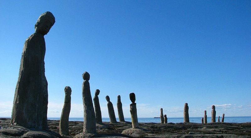 forêt de sculptures