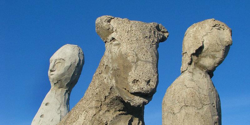 mouton accompagné