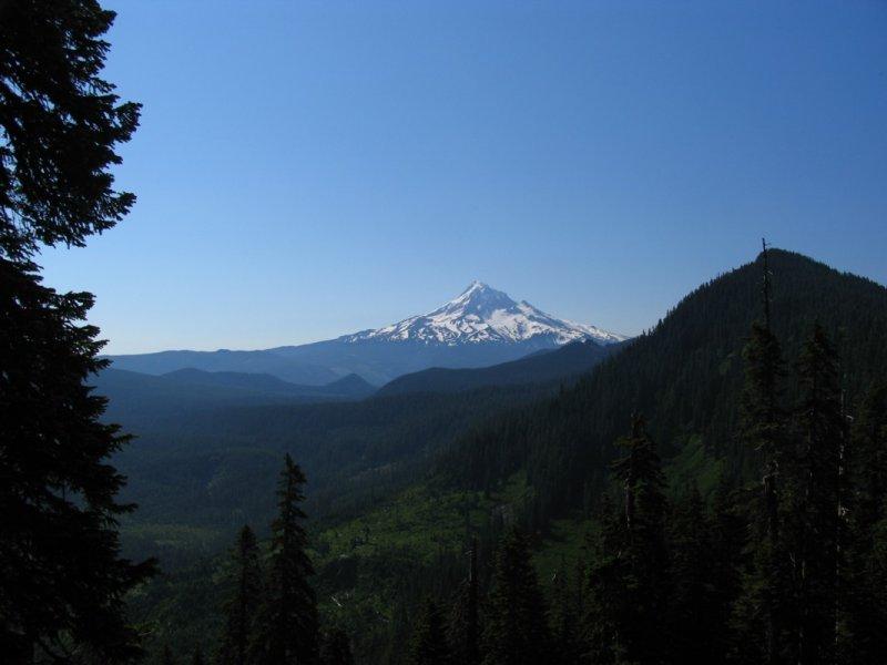 Mount Hood and Buck Peak