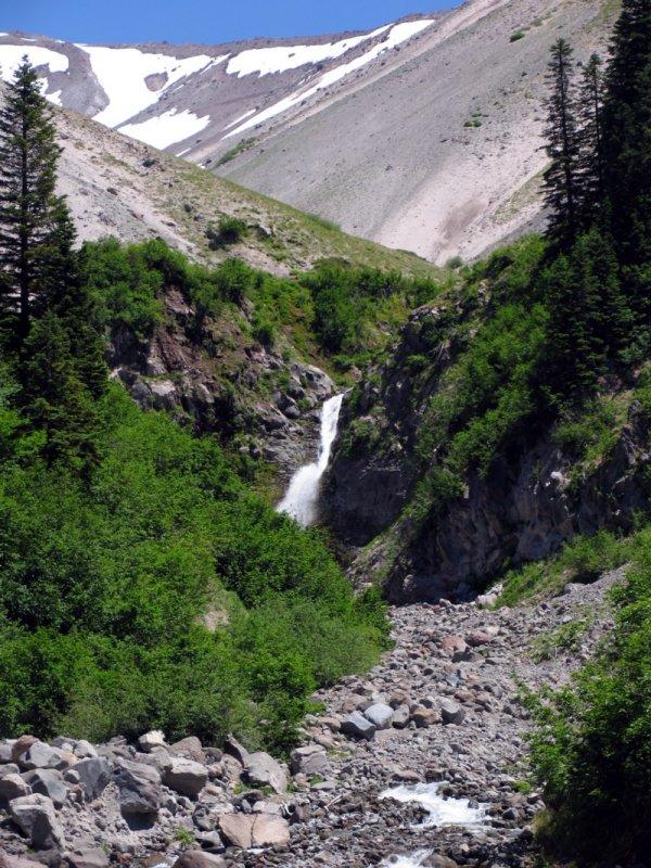 Zigzag Canyon falls