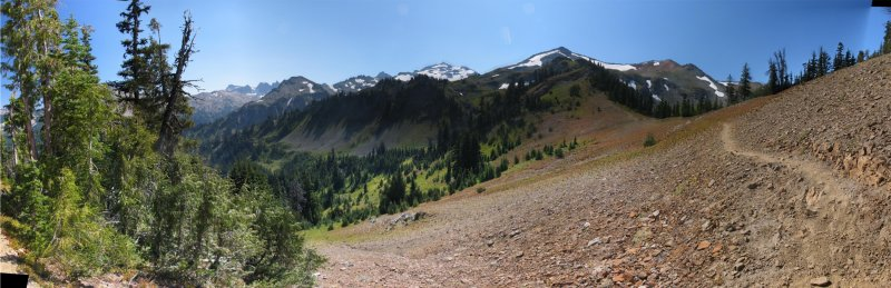 McCall Basin Panorama from the PCT