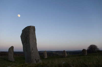 5th March 2012 <br> moon and stones