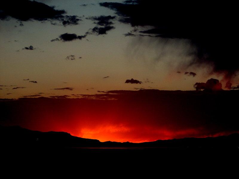 Sundown in Utah